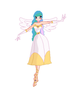 Winx Club Princess Celestia by V4NN1