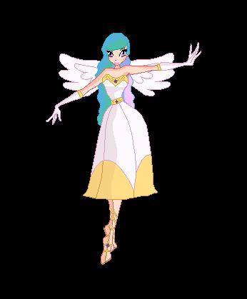 Winx Club Princess Celestia by V4NN1