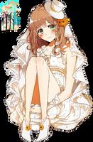 AMNESIA Heroine  Renders by Bertha-chan