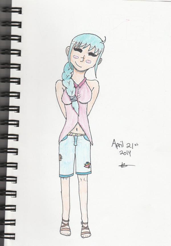 Kyrin Asari - One Piece OC [Bio] by XCrackedxButterflyX