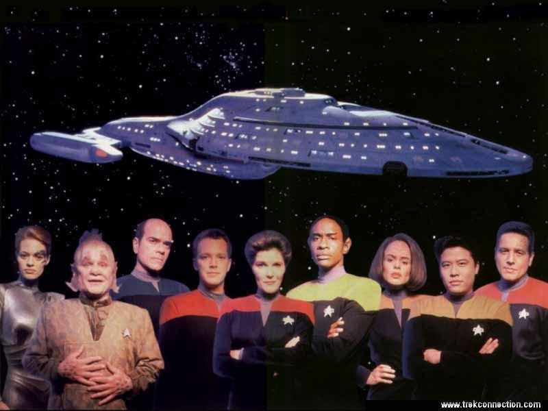 Voyager Crew by AzaniaDragon