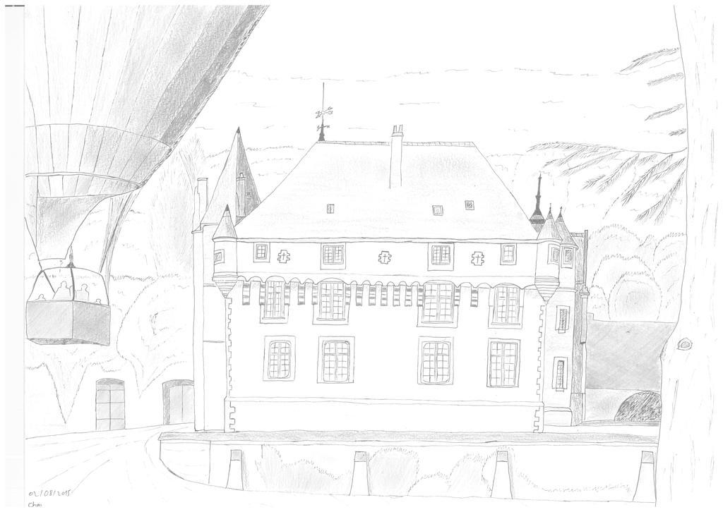 Chateau de Poce Sur Cisse by Mr-Tee-Shirt