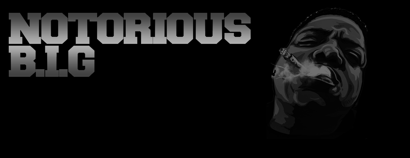 The notorious b i g facebook cover by darkzabimaru