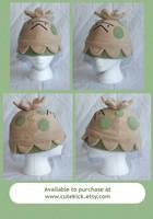 Shroomish Pokemon Hat by cutekick