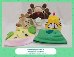 Pokemon Hat Restock by cutekick
