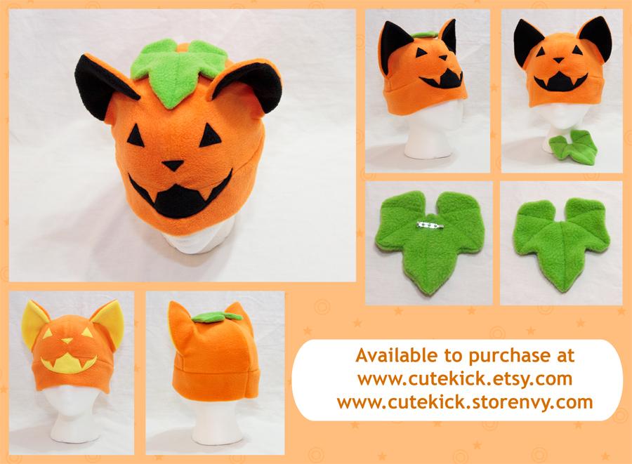 Cat O Lantern Hat by cutekick