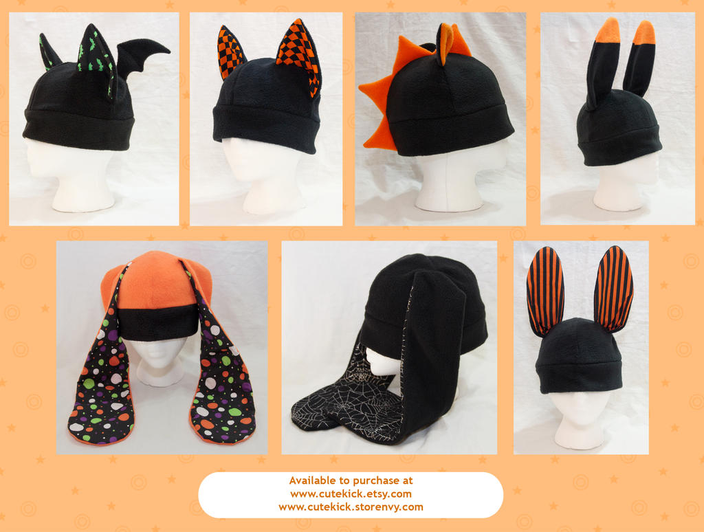 Halloween Hats by cutekick