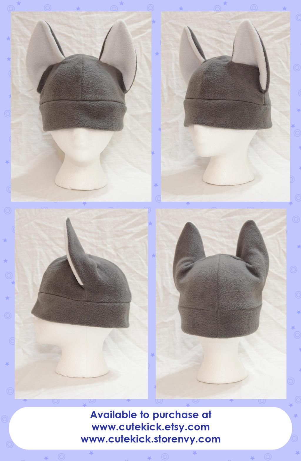 Wolf Hat Okami Hat by cutekick
