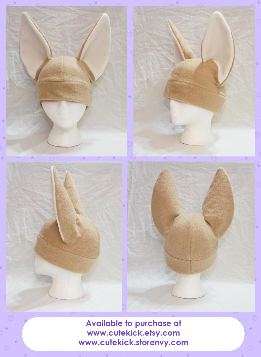 Fennec Fox Hat by cutekick