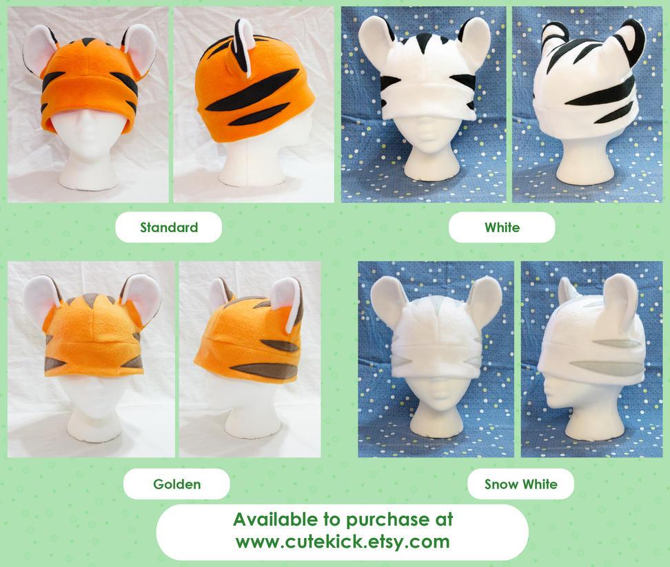 Semi Realistic Tiger Colors by cutekick