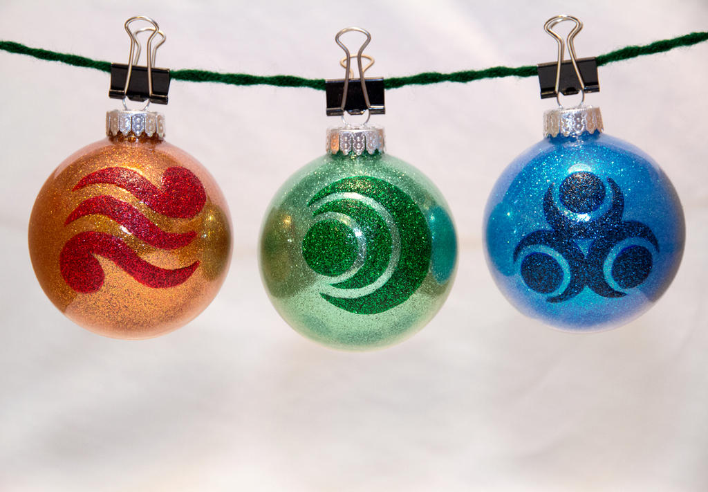 Zelda Goddess Pearl Ornaments by cutekick