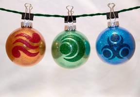 Zelda Goddess Pearl Ornaments by cutekick