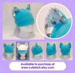 Tiny Whales Cat Hat
