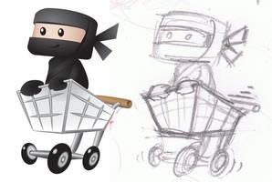 Woo Ninja Branding Design
