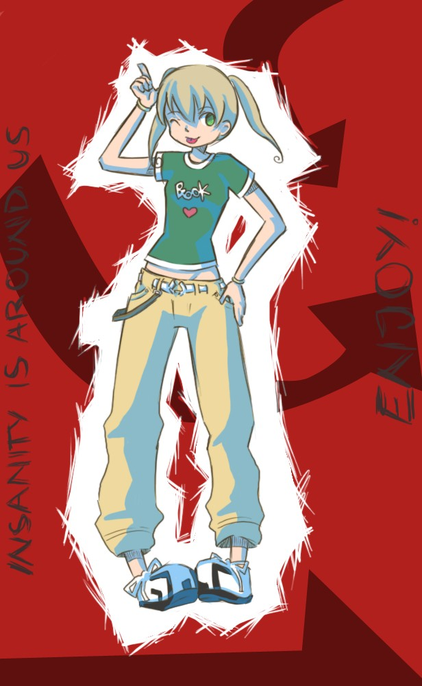 Albarn Maka by 3-Keiko-chan-3