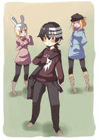 Tres by 3-Keiko-chan-3