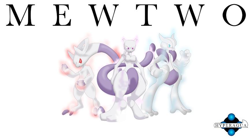 Mewtwo 39 s mega evolutions by hyperagua on deviantart - Mewtwo mega evolution ...