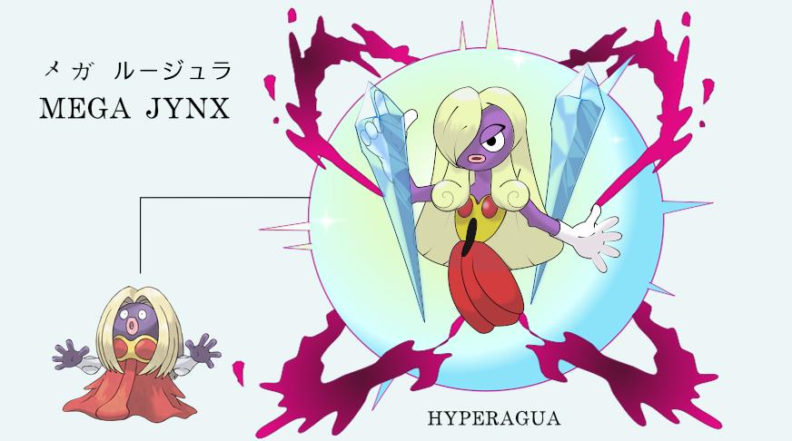 Mega Jynx Pokemon Images | Pokemon Images