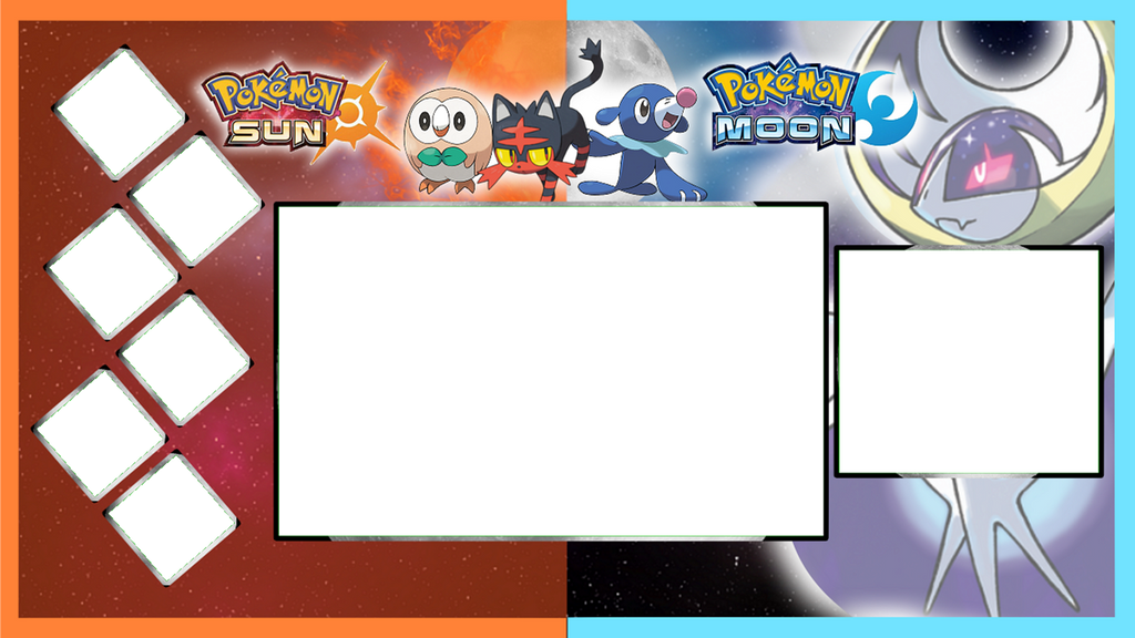 pokemon moon youtube layout by hyperagua on deviantart. Black Bedroom Furniture Sets. Home Design Ideas
