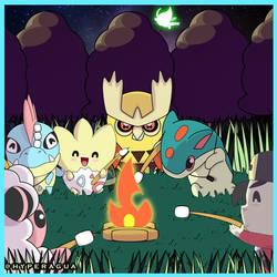 Chibi Johto Episode 11 Ilex Forest by Hyperagua