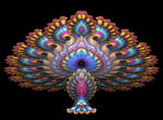 Apophysis Peacock Figurine