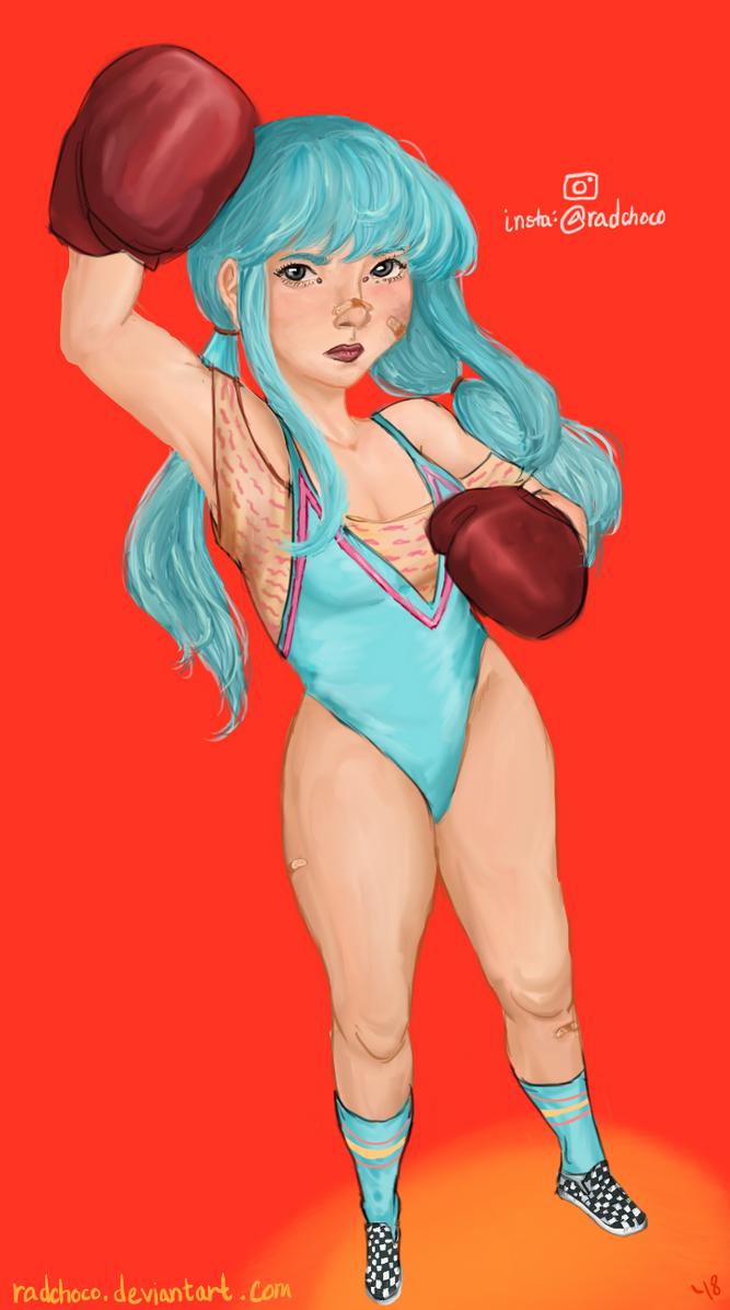 Boxer Girl by radchoco