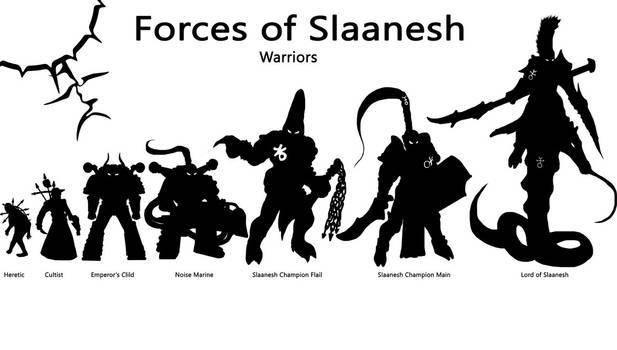 Forces of Slaanesh - Part 1 - Warriors