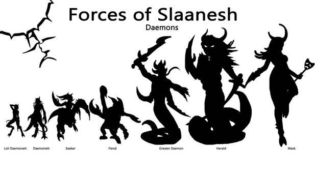 Forces of Slaanesh - Part 2 - Demons