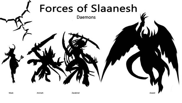 Forces of Slaanesh - Part 3 - High Demons