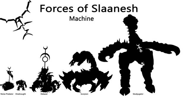 Forces of Slaanesh - Part 4 - Machines