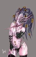 Daemonette of Slaanesh by slaanesh-goddess