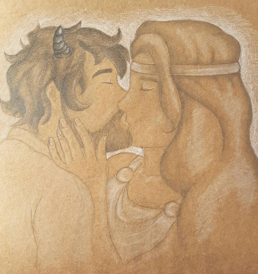 The Goddess and the Horned God by jazzyjesss27
