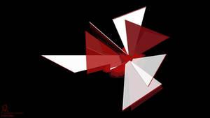 Resident Evil Umbrella logo - Shattered