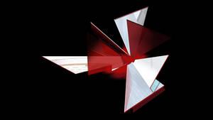 Resident Evil Umbrella logo - Shattered v1