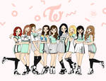 Fanart - Twice 6 Cheer Up
