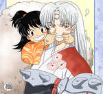 Sesshomaru and Rin - Inuyasha by FerKioko