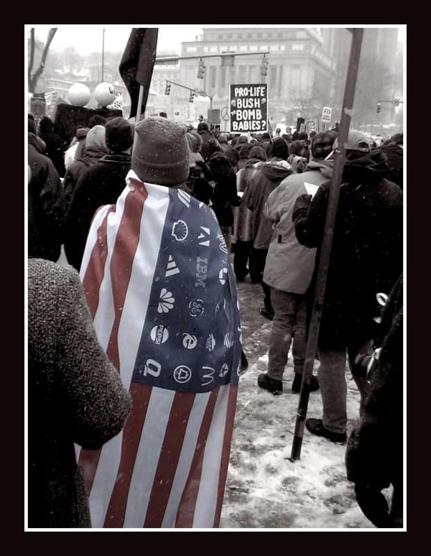 pitt protest flag remake by friedzombiebrain