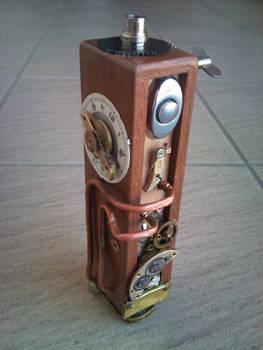 steampunk wood e cig mod I/1