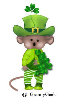 paddy mouse with hat