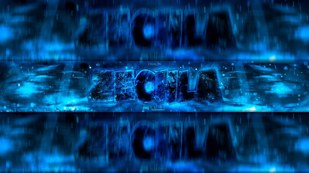 Zechla's YouTube Banner by Zechla on DeviantArt