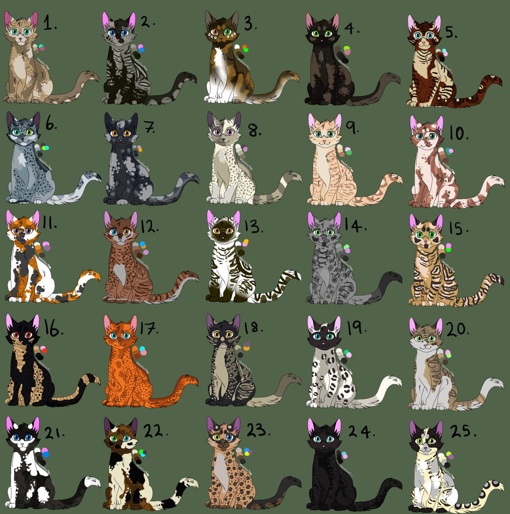 Mystery Adoptables 2# (Closed)