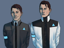 Detroit: Become Human - RK1700 - RK900 - RK800
