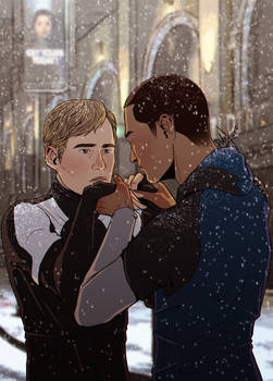 Detroit: Become Human - Markus x Simon