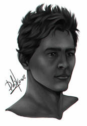 Uncharted 4 - Sam Drake - Sketch