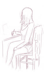 Meri drawing by nikolasalokin