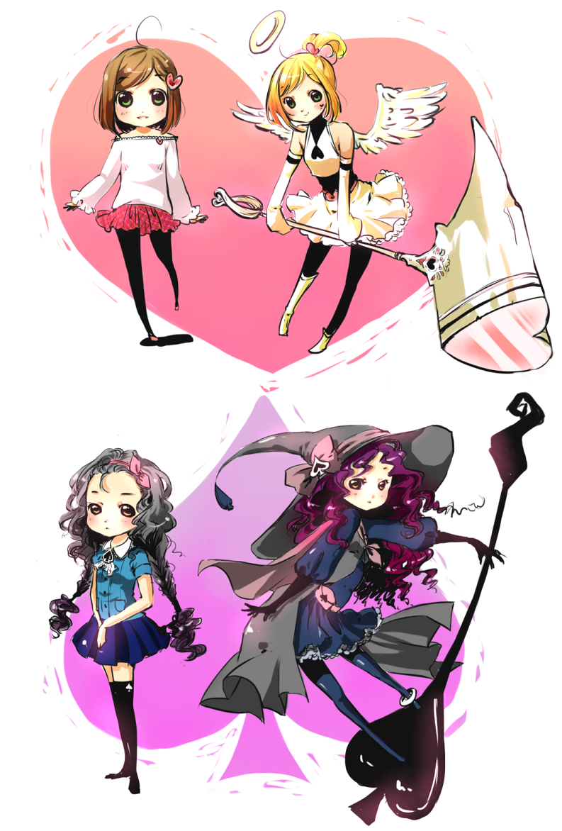Magical Girl Adoptables [CLOSED] by Nachooz