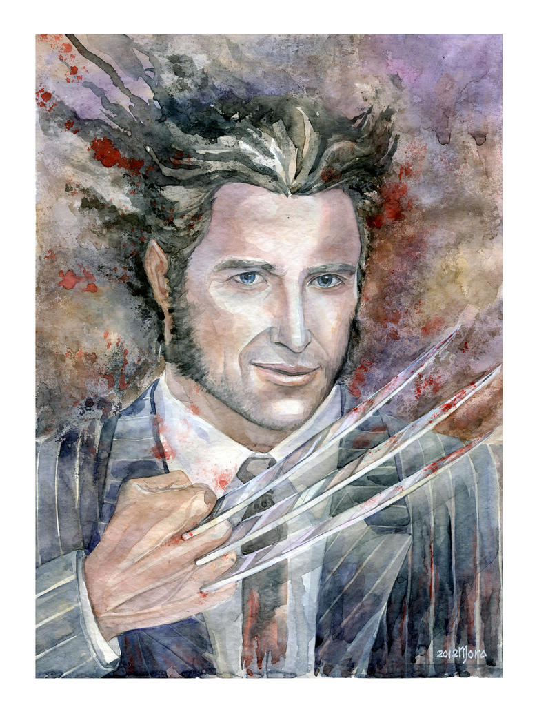Wolverine by MoraShadow