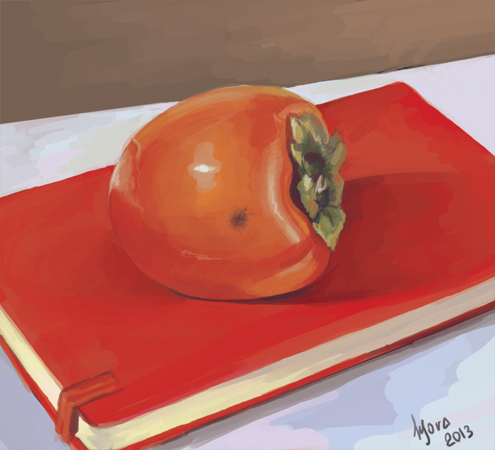 persimmon by MoraShadow