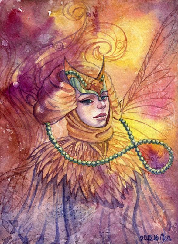 Desert priestess by MoraShadow