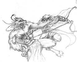 Sam vs the lycanthropes